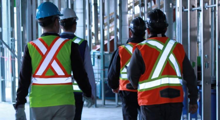 worker walking
